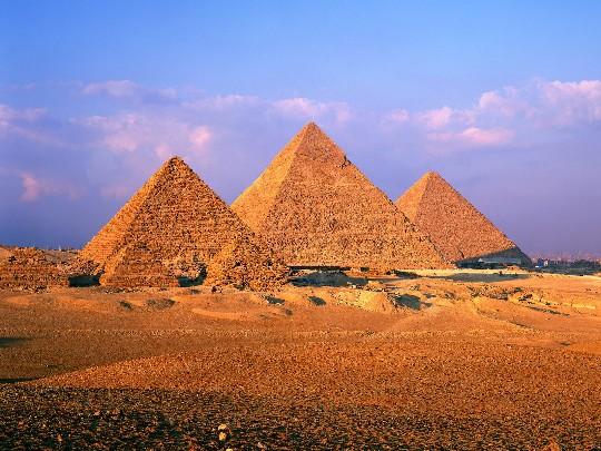 Arte e Design  As Pirmides do Egito  MapaMundicom