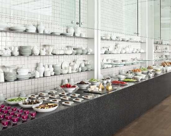 Mamilla Hotel Breakfast Buffet