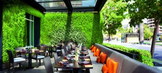 Estro Terrace, The Ritz-Carlton Santiago