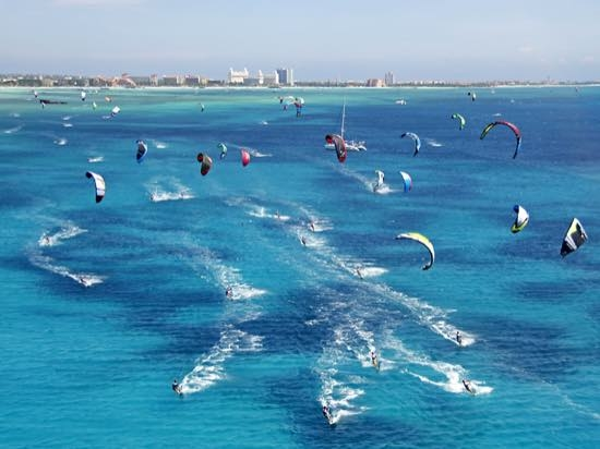 Aruba: paraíso do kite surfe