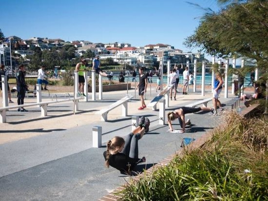 Bondi Muscle Beach