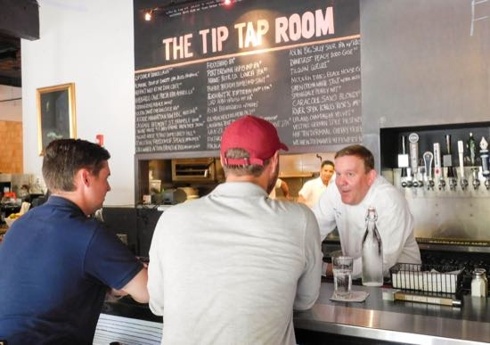 The Tip Tap Room - Chef Brian Poe